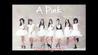 A Pink let us just love lyrics