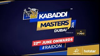 #KabaddiMasters Dubai 2018: 3 Things to know about Team Kenya