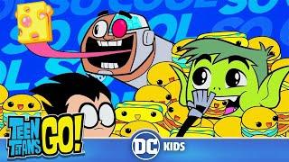 Teen Titans Go! En Español | ¿Sigues con Hambre? | DC Kids