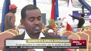 Aliko Dangote speaks on Large Scale Investments in Africa