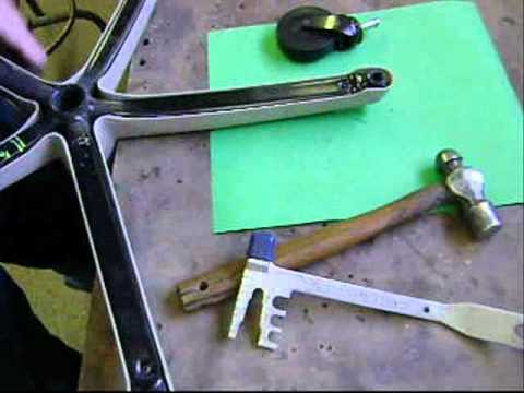 Office Chair Replacement Wheels Rail Picture Frame Repair Castors Or Steelcase - Youtube