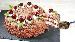 Black Forest Cake【Kirschtorte】黒い森のケーキ 【キルシュトルテ】(チョコレートケーキ)