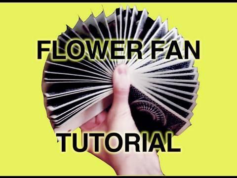 Download Card Flourishes - FLOWER FAN TUTORIAL