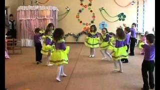 Современный танец средняя группа в д с 306 Одесса