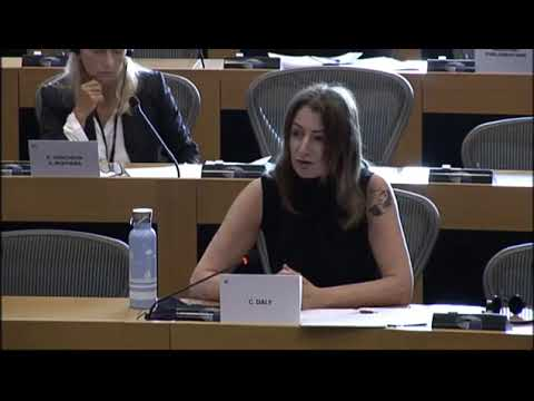 Дели Клара - Clare Daly MEP: - General Boeko Borisov presiding over the most corrupt state in the EU