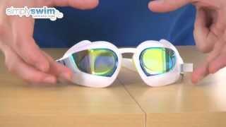 Speedo Fastskin 3 Super Elite Goggle Mirror - White - www.simplyswim.com