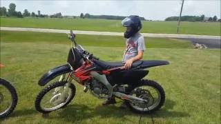 First Ride on the New Honda Cr 125!!!