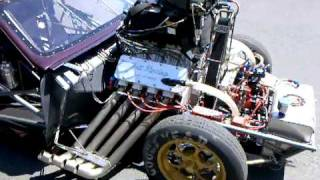 Walk around of 1965 Pontiac GTO Pro Mod built by Dillinger Pro Cars