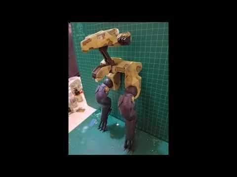 Metal Gear solid 4 Gekko Resin scale 1/8