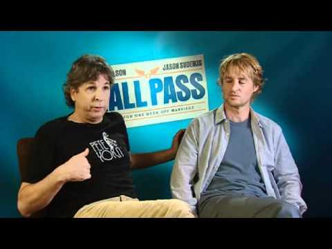 """Owen Wilson & Peter Farrelly """"HALL PASS"""" interview"""