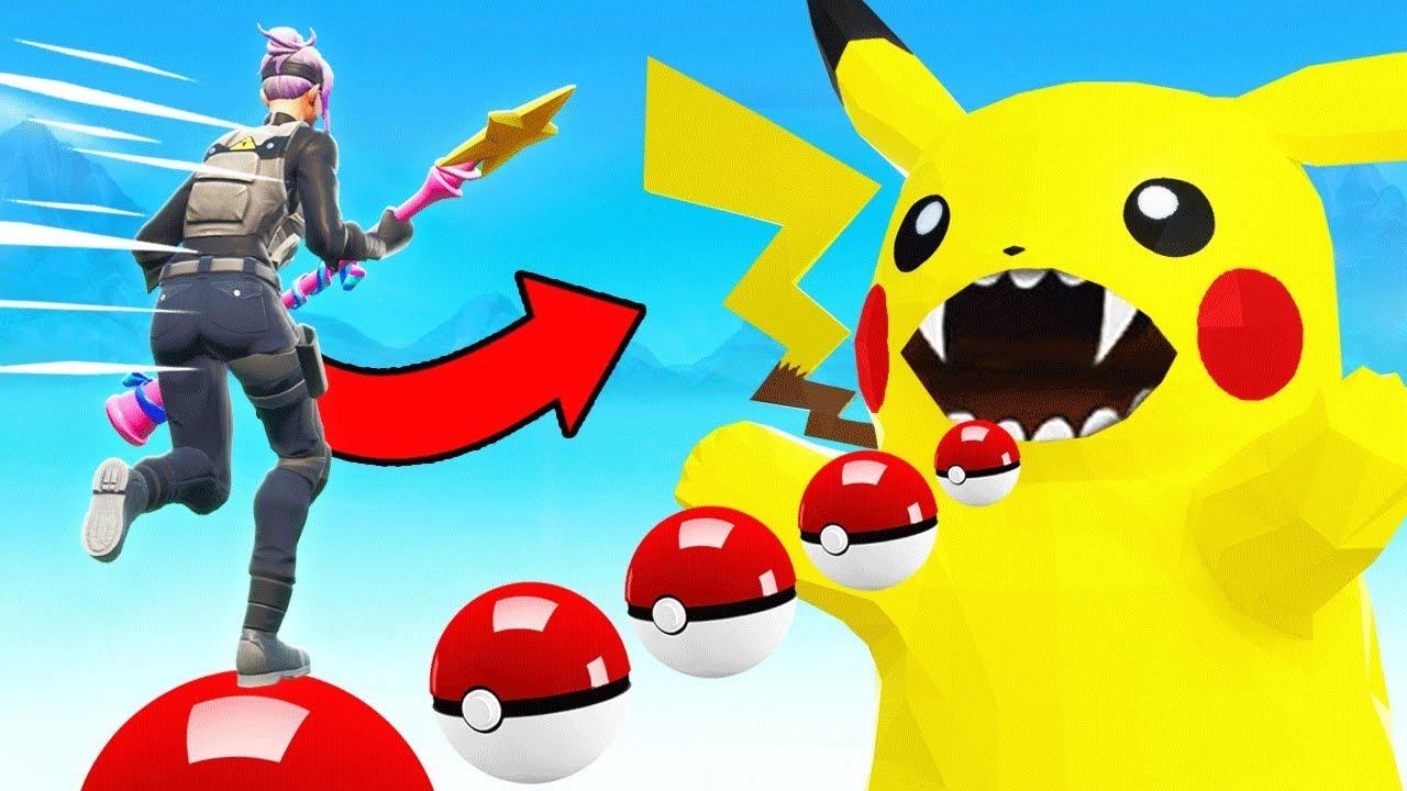 CATCHING Pokemon IN FORTNITE * NEU * Spielmodus in Fortnite Battle Royale + video