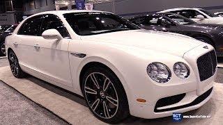 2018 Bentley Flying Spur V8 S - Exterior Walkaround - 2018 Chicago Auto Show