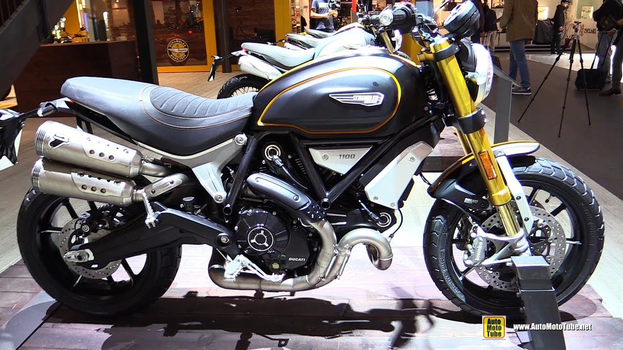 2018 ducati scrambler 1100 sport walkaround 2017 eicma milan motorcycle exhibition youtube. Black Bedroom Furniture Sets. Home Design Ideas