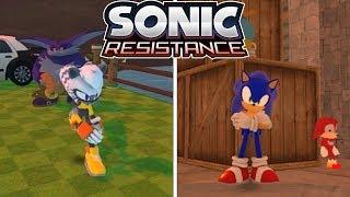 Sonic Resistance v2.0 (Sonic Fangame) [Full Playthrough]