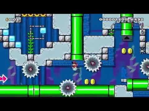 super mario maker gameplay