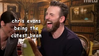 chris evans being the cutest bean for 4 minutes straight