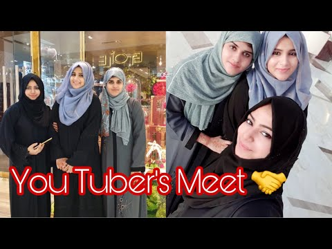 You-tubers Friends Meetup Vlog With Pics ~ Collab With Zulfia's Recipes & Arusuvai Kitchen