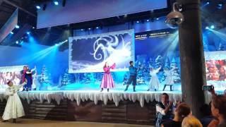 Frozen Ana y elsa espectáculo disney