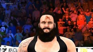 Payback 2017: Roman Reigns vs. Braun Strowman.