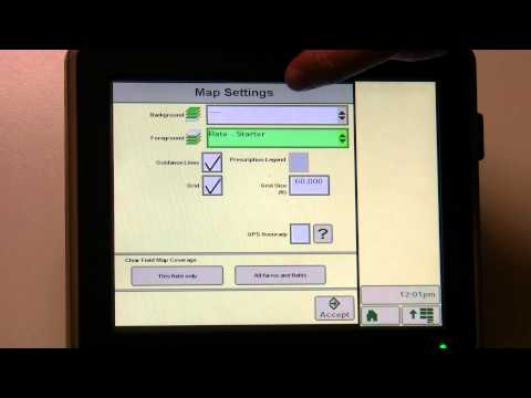 John Deere Greenstar Display Mapping Tab Review