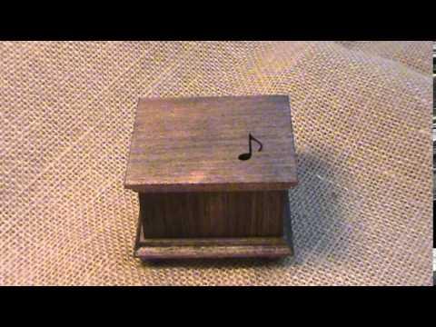 Grandfather's clock music box