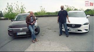 Auta bez ściemy - Volkswagen Passat kontra Mazda 6