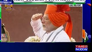 Watch: PM Narendra Modi unfurls National Flag at Red Fort on 72nd Independence Day