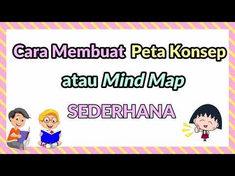 Cara Membuat Peta Konsep atau Mind Mapping Sederhana