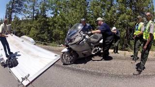 BMW K1600 GTL Crash