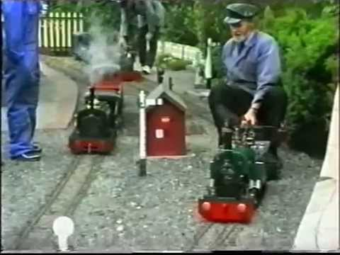 Joys of Life Railway c.1994-96 : Archive Video from 'Model Engineering'
