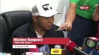 Maximo Banguera Y Su Despedida De Barcelona