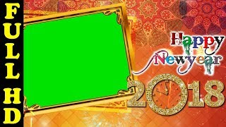 happy new year green screen 2018 HD 1920x1080p Kishore Gfx