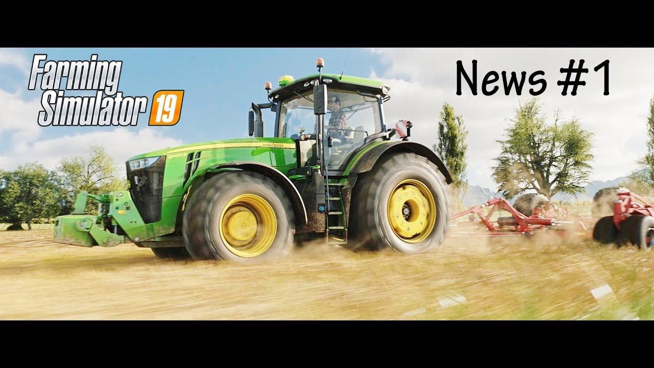 Farming Simulator 19 Analizziamo l'E3 CGI Trailer e scopriamo le prime novità