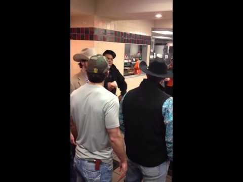 Fight at Whataburger in Spring, TX