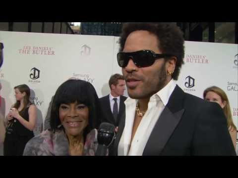 Cicely Tyson & Lenny Kravitz's Interview from The Butler's New York Premiere