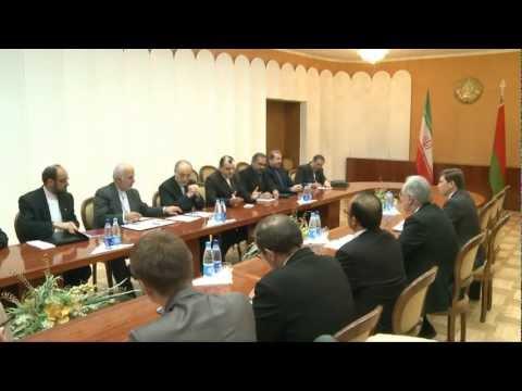 Визит Министра иностранных дел Ирана в Беларусь