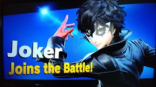 New) Version 3.0 tour and Joker and Momento stage in Super Smash Bros Ultimate on Nintendo Switch