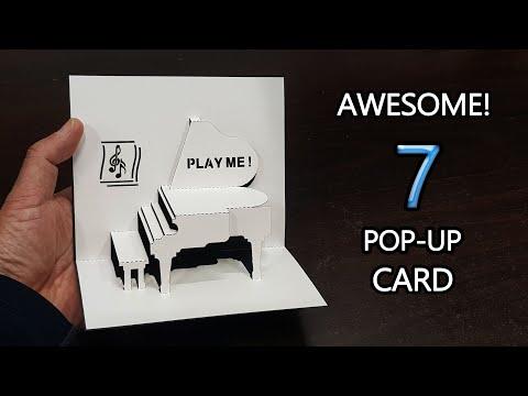 Amazing!  7 pop-up card
