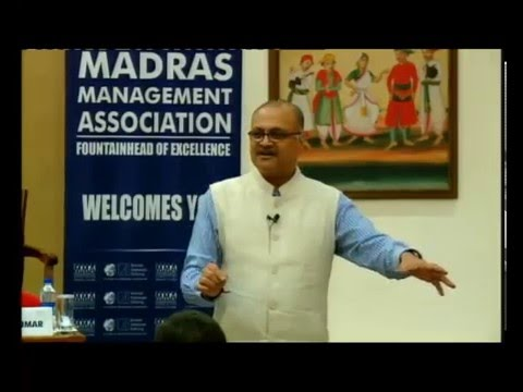 """The """"Fall Like A Rose Petal"""" Talk on Personal Leadership by AVIS Viswanathan @ MMA 15th March 2016"""