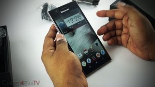Lenovo Ideaphone K900 (6.9mm /Full HD /Intel Inside/2GB RAM) - Hands On & Unboxing