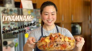 Download lagu LYNamnam: Kinamatisang Baboy (Pork stewed in Tomatoes)