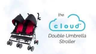 Introducing the Kolcraft Cloud Double Umbrella Stroller