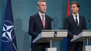 NATO Secretary General with Prime Minister of the Netherlands, 24 NOV 2014