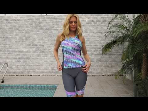 women's-sleeveless-top-and-cropped-pants-two-piece-unitard-tankini-swimsuit