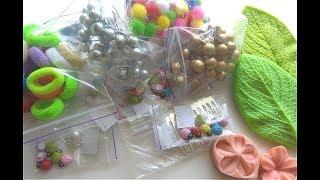 Обзор покупки материалов для творчества из интернет магазина 100 IDEY.com.ua