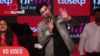 Ranbir Kapoor Singing Channa Mereya LIVE - Ae Dil Hai Mushkil