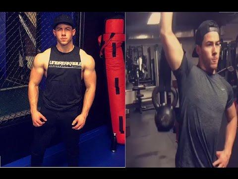 Nick Jonas Workout Routine 2017 for Kingdom