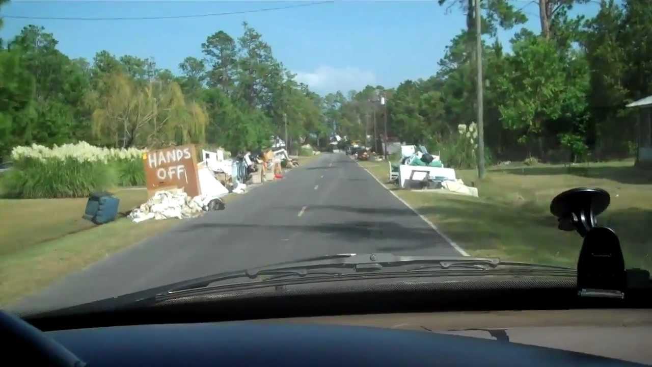 Hurricane Irene Damage Hobucken Nc Youtube