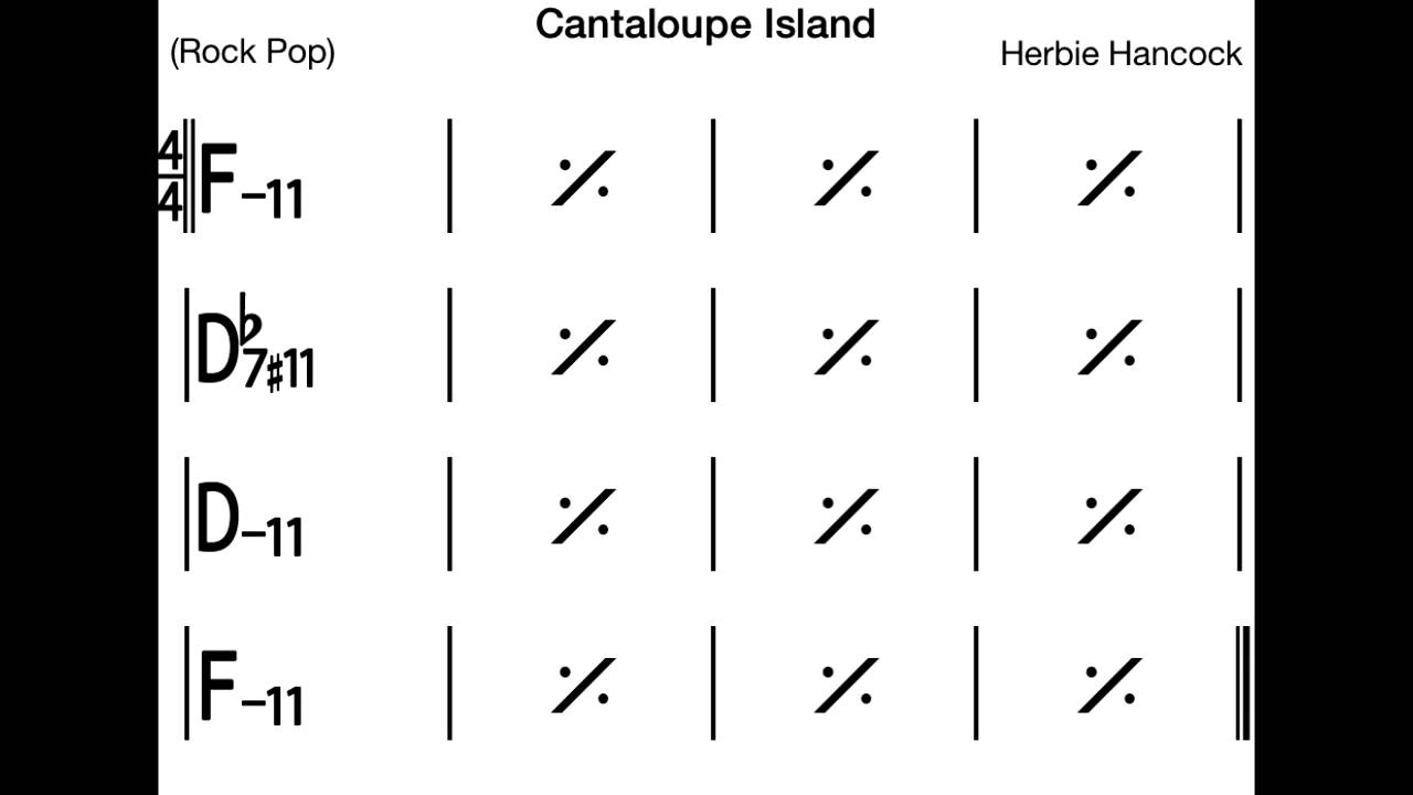 Cantalope Island Backing Track