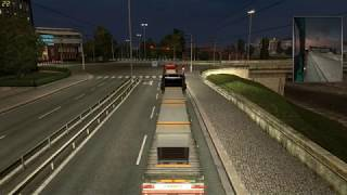 ETS 2 Multiplayer #8 Luxembourg -- Strasbourg